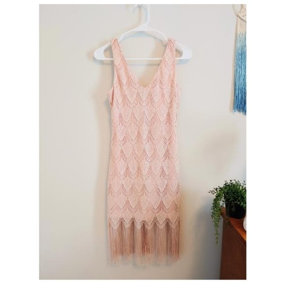 As U Wish Dresses & Skirts - NWOT Sparkly flapper dress 💖